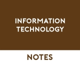 Information Technology VET Study Notes