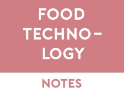 Food Technology Study Notes