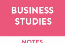 Business Studies Study Notes