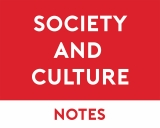 Society & Culture Study Notes
