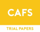 Community and Family Studies Trial Papers