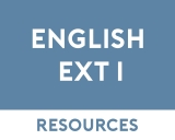 English Extension 1 Free Resources