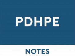 PDHPE Study Notes