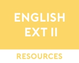 English Extension 2 Free Resources