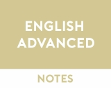 English Advanced Study Notes