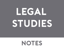 Legal Studies Study Notes